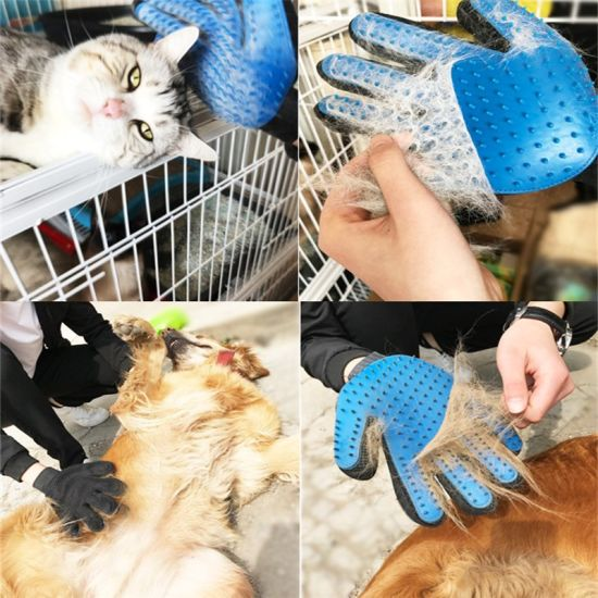 Pet Brush Grooming Cat Dog Bath Pet Cleaning Supplies Gloves pictures & photos
