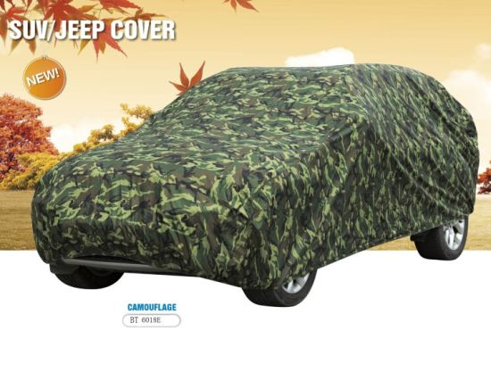 190tcamouflage Car Cover