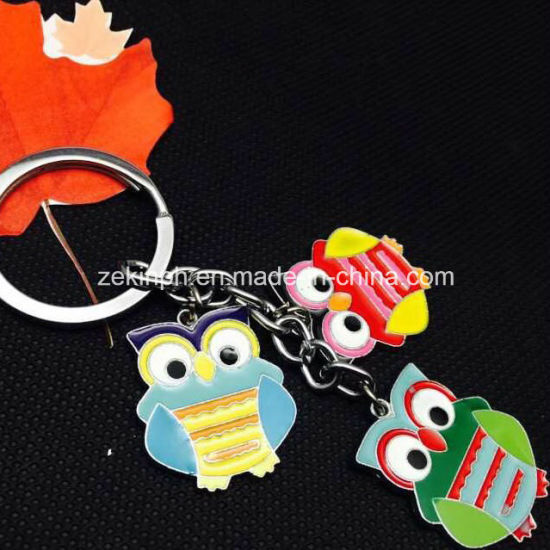 Factory Customized Cute Animals Metal Key Chains pictures & photos