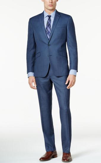 e03db2e43ea5 Italian Blue Men Suit New Pant Coat Design Slim Fit Men Wedding Suits 3  Piece Suit