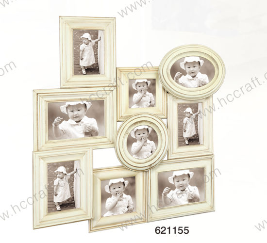 China Wooden Antique Collage Photo Frame - China Collage Photo Frame ...