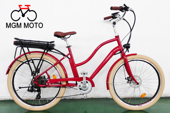 Alloy Frame City Electric Bike with 500W Motor pictures & photos