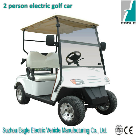 Two Seater Golf Cart with CE Certificate Eg2029k