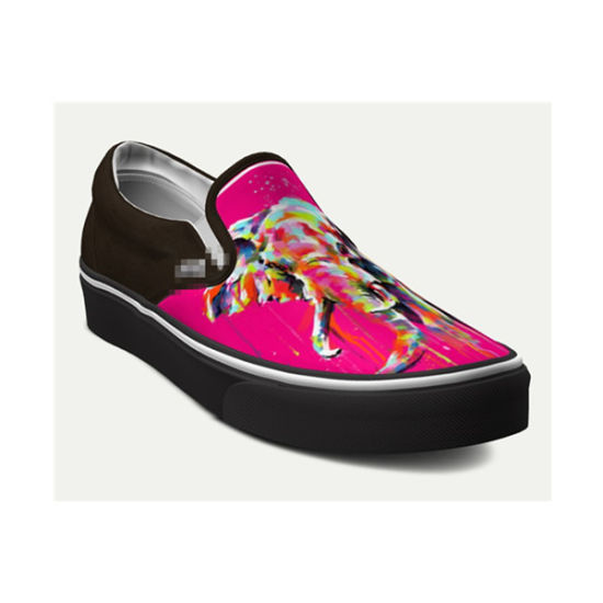 78601d54e2dd Dropshipping Factory Custom Shoes Make Your Own Design Sublimation Prints  Canvas Sneakers
