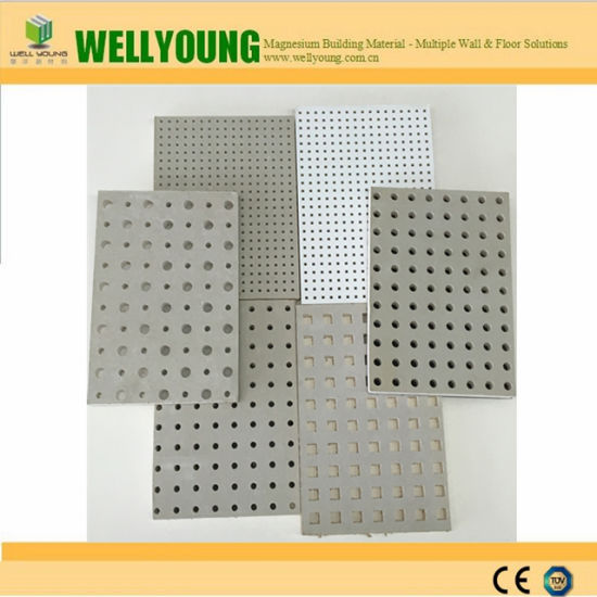 China Perforated Suspended Gypsum Board For Office Ceiling