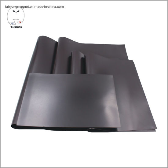 Cheapest Flexible Rubber Coated Magnet Flat