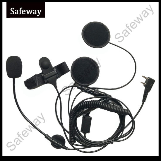 Motorcycle Full Face Helmet Headset Earpiece for Baofeng pictures & photos
