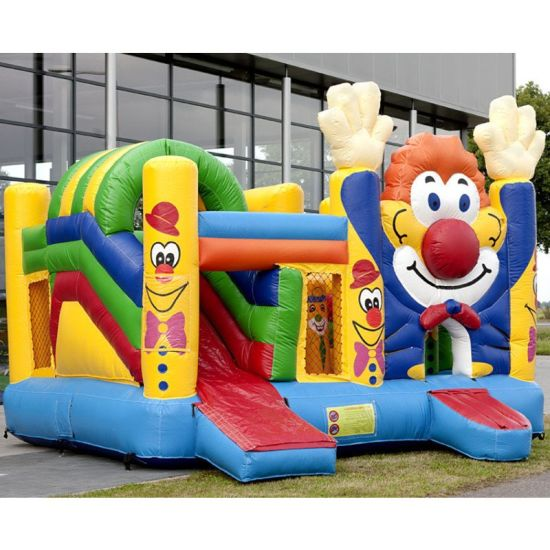 China Funny Clown Kids Inflatable Bouncy Castle - China Inflatable Castle  and Inflatable Jumping Castle price
