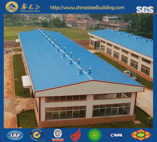 Prefabricated House/Prefabricated Steel Structure Warehouse (JW-16262)