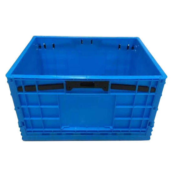 Factory High Quality Turnover Box Collapsible Multi-Use Foldable Plastic Crate pictures & photos