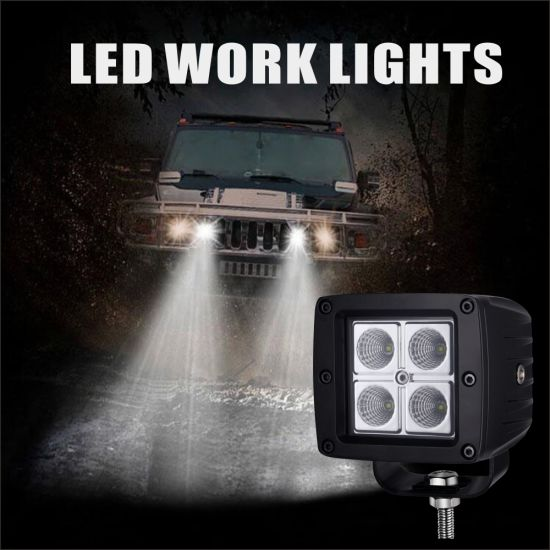 LED Work Light Bar Spot Beam Offroad Driving Fog Lamp pictures & photos