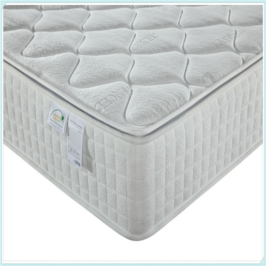 Wholesale Pillow Top Hotel King Size Mattress pictures & photos