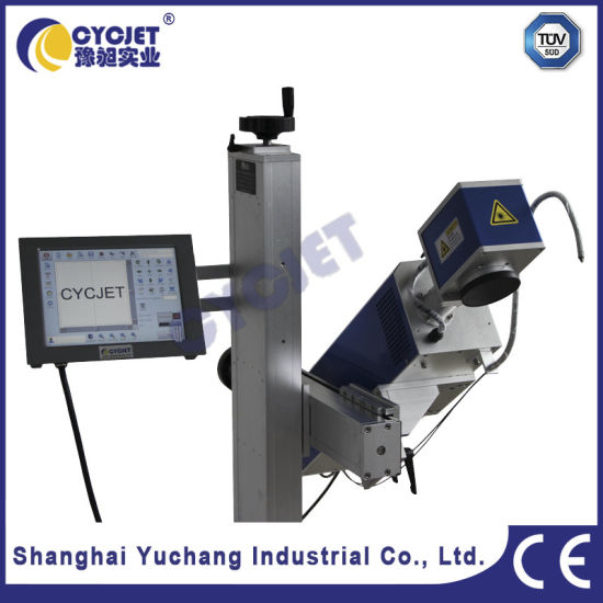 Automatic Laser Marking Machine for PVC/PPR Pipe pictures & photos