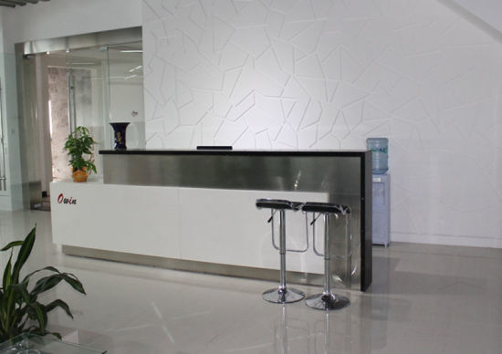 Reception Desk With Stainless Steel And Granite On Top Pictures Photos