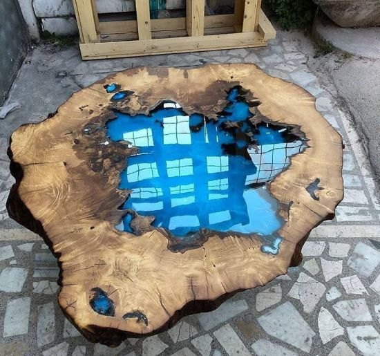 Epoxy Resin Liquidcrystal Clear Table Pigments