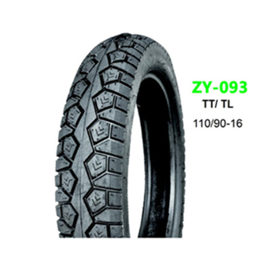 Car Parts Tubeless Rubber Motorcycle Tire