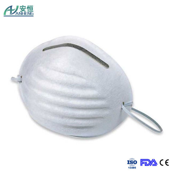 Disposable Fold Dust Non Flat Face Protective Made Woven Mask