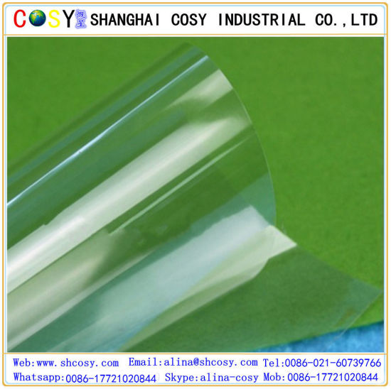 Non-Toxic Environmental Vinyl PVC Laminated Heat Resistance Self Adhesive Static Window Film pictures & photos