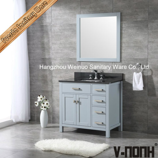 Country Style Solid Wood Bathroom Vanity Over Toilet Storage Cabinet