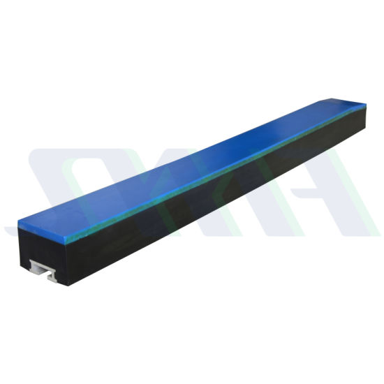 UHMW-PE Polyethylene Plastic Conveyor Impact Bar Mining Machinery Parts