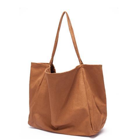 Amazon Hot Sale Fashionable Canvas Cotton Shopping Tote Bag