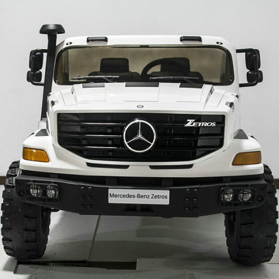 Mercedes Benz Zetros Licensed Ride On Toys With 24v Battery Car Electric Remote Control Kids