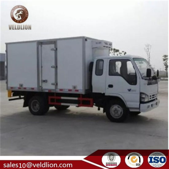 New Freezer Truck for Sale Ice Cream Freezer Container Mini Van Truck with  Freezer