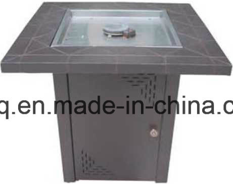 Mini Size Fire Pit with MGO Table and Powder Coated Surroundings in  Different Colors