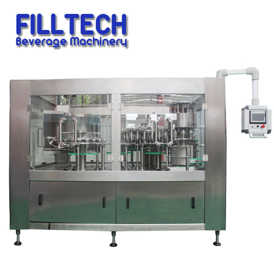 Automatic Beverage Juice Tea Water Bottle Washing Filling Capping 3-in-1 Machine pictures & photos