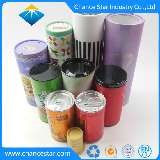 Custom Designs Different Styles Paper Cardboard Tubes Boxes
