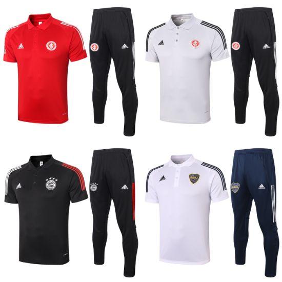 Wholesale 2021 Sport Club Internacional/FC Bayern/Boca Juniors Sweatshirts Tracksuit Men Women Youth Soccer Polo Suits