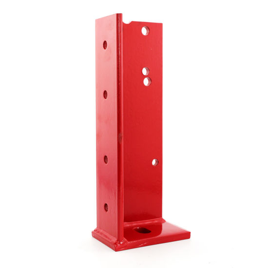Custom OEM ODM Powder Coated Red Welding Stamping Parts for Industry & Equipment