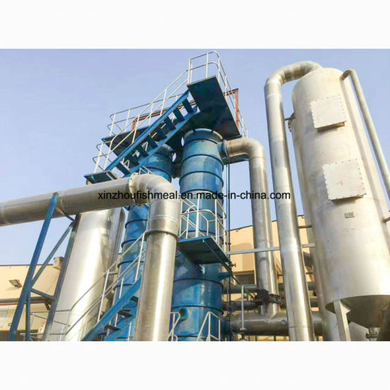 China Wet Process Fishmeal Equipments with Pdf550