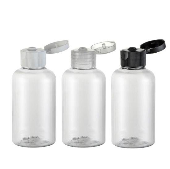 e2c1b168c2ec China 75ml Empty Clear Pet Plastic Lotion Emulsion Shampoo Toner ...