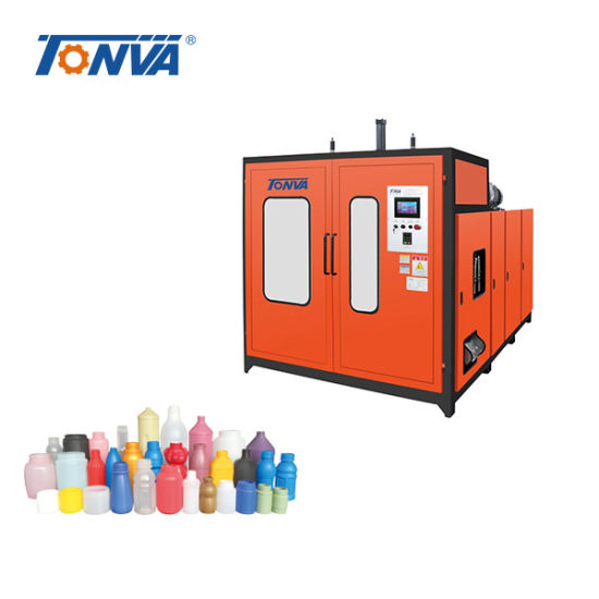 500ml Two Cavity Plastic Angle Neck Bottle Making Machine Price Taizhou
