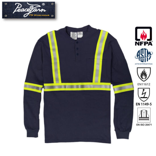 Flame Retardant Safety Workwear with Reflective Tape