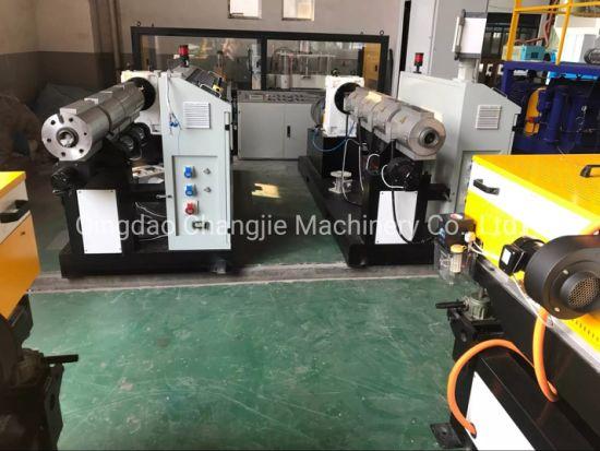 PP PVC PE Single Wall Corrugated Electricity Conduit Pipe Machine