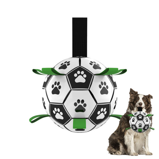 Original Design Outdoor Interactive Unique Water Floating Dog Toys Pet Grab Tabs Toy Dog Soccer Ball