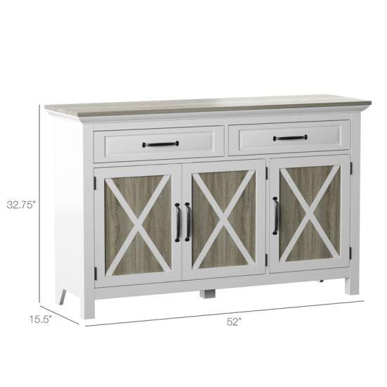 China Modern Kitchen Cabinets White