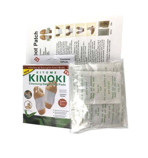 Best Selling! ! ! Relax Health Broadcast Japanese Kinoki Detox Foot Patch