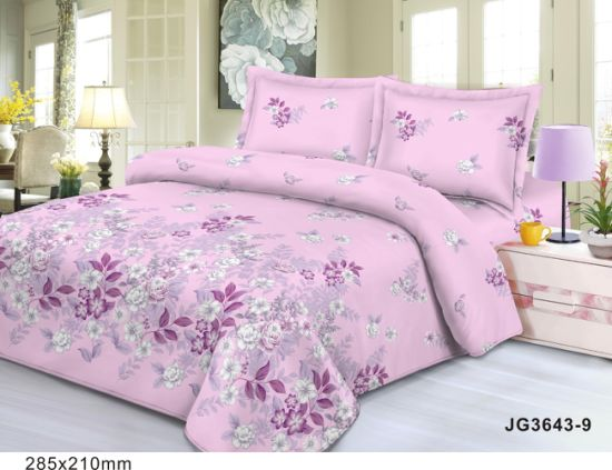 Professional Customization Popular Home Textile Polyester Bed Fabric