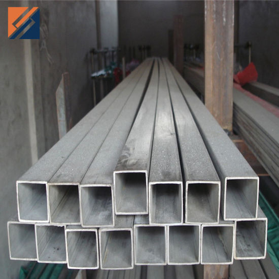 304/316 Seamless Stainless Steel Square Pipe