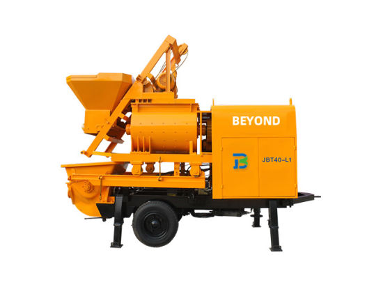 Concrete Pump with Mixer Electric