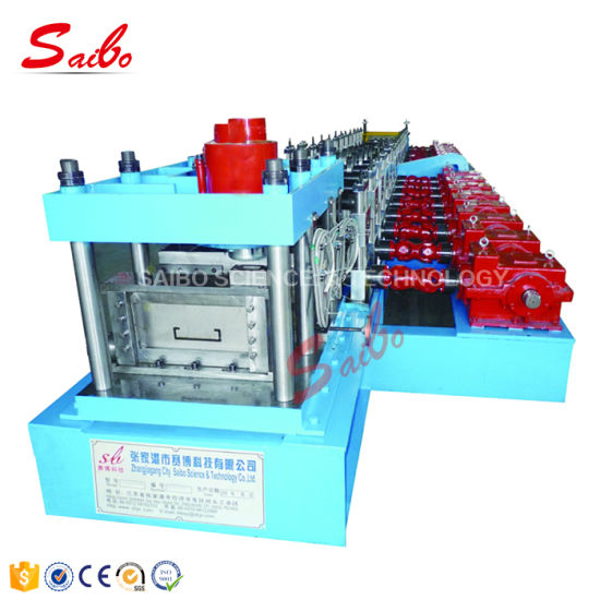 Yx80-200 C Purlin Roll Forming Machine with Gear Box