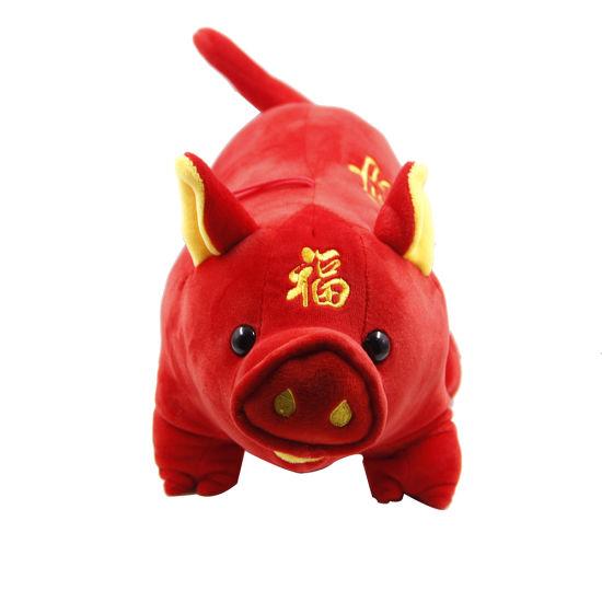 China Factory Soft Animal Cartoon Pillow Cushion Cute Fat Dog Cat Totoro Penguin Pig Plush Toy