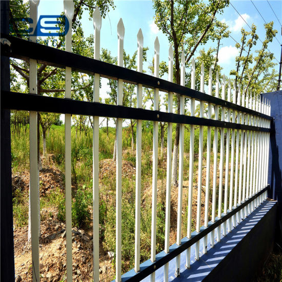Factory Direct Sales Wholesale Hot Sale Security Galvanized Steel Palisade Fencing