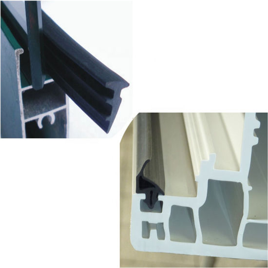 Extruded Silicone EPDM NBR PVC Rubber Seal Strip Custom Made