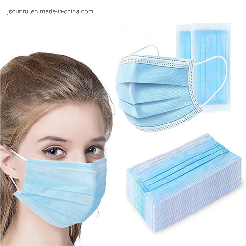 Cunrui China Supply Children Disposable Face Mask