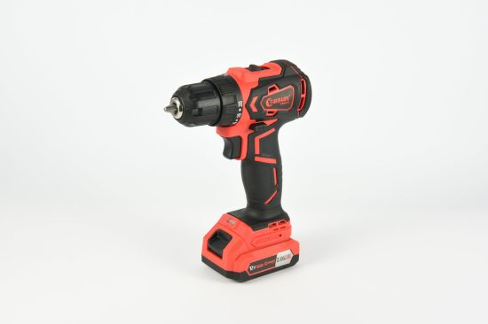Easun 12V Industrial Lithium Brushless Impact Hammer Drill 2.0/4.0Ah Dk05BL 10mm 40Nm.