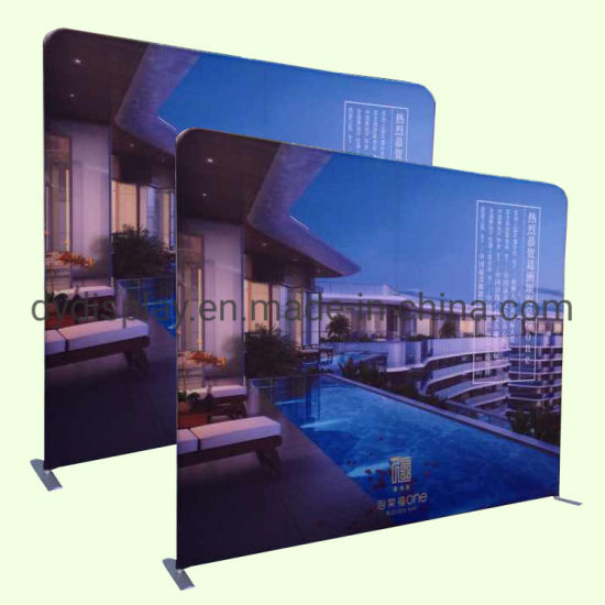 Custom Portable Banner Exhibition Backdrop Stand Photo Booth pictures & photos